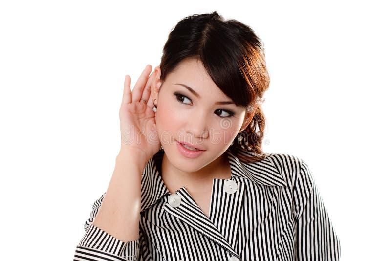 Mulher asiática doce fotos de stock