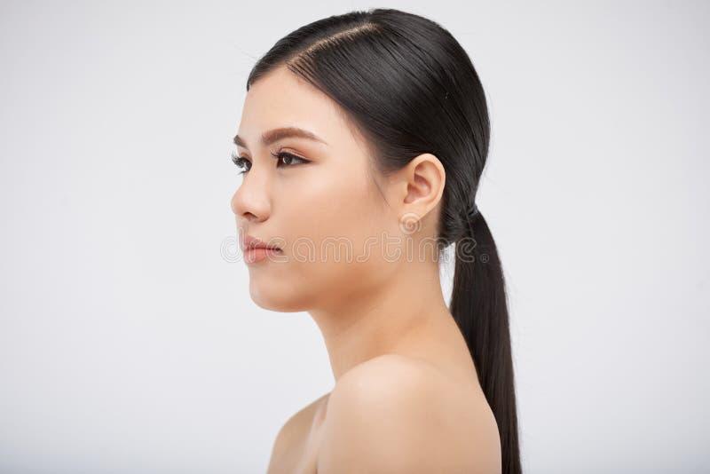Mulher asiática encantador imagem de stock royalty free