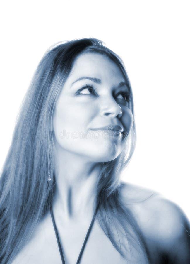 Mulher Atrativa Fotografia de Stock