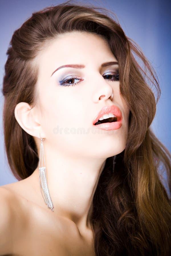 Mulher atrativa nova 'sexy' fotografia de stock