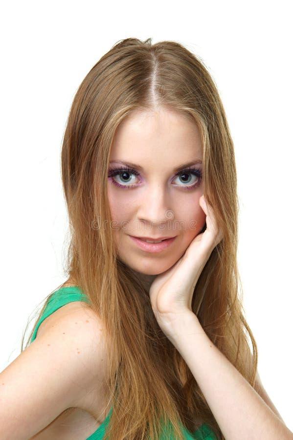 Download Mulher bonita foto de stock. Imagem de cuidado, faça - 16861458