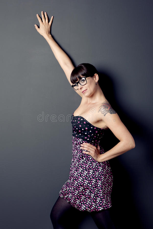 Mulher bonita fotografia de stock royalty free