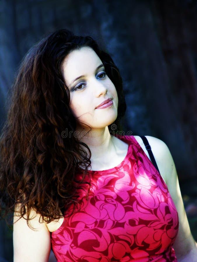 Download Mulher bonita foto de stock. Imagem de preto, ocasional - 63454