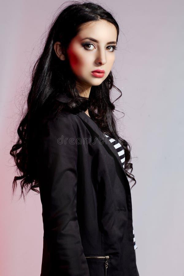 Mulher bonita com pele clara fotografia de stock royalty free