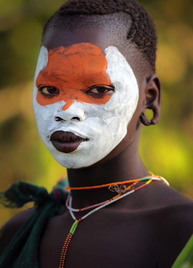 Mulher bonita de Suri imagem de stock