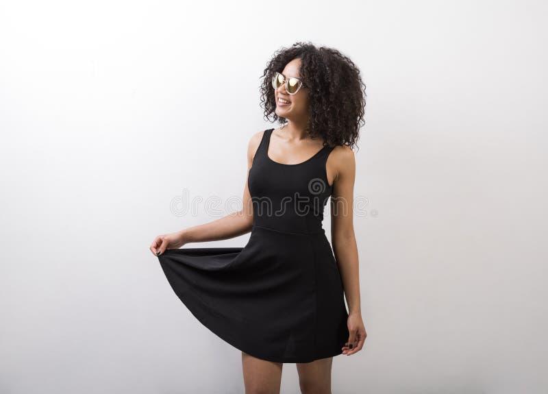 Mulher bonita do americano africano foto de stock royalty free