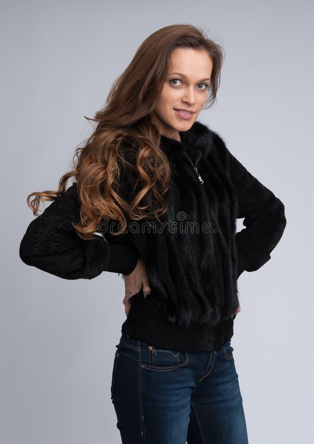 Mulher bonita elegante imagens de stock royalty free