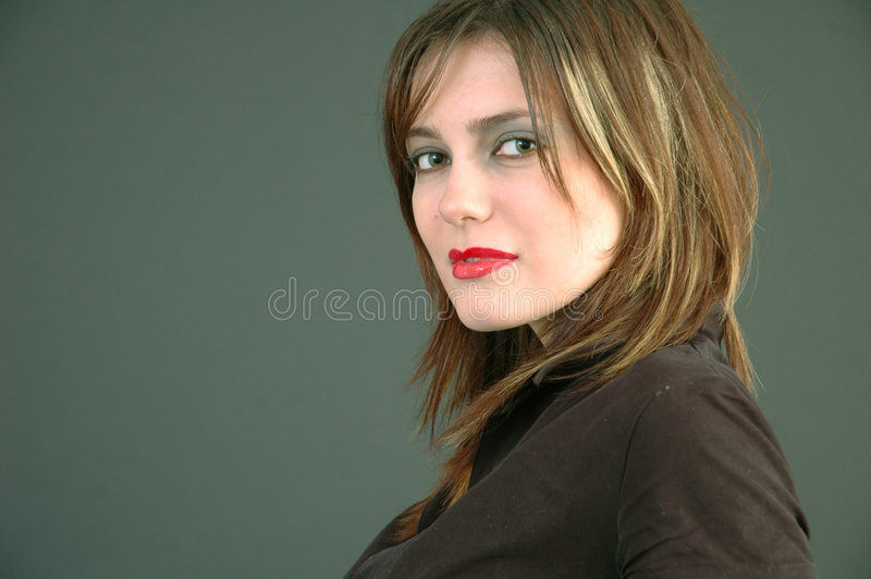 Mulher bonita nova.   fotos de stock royalty free