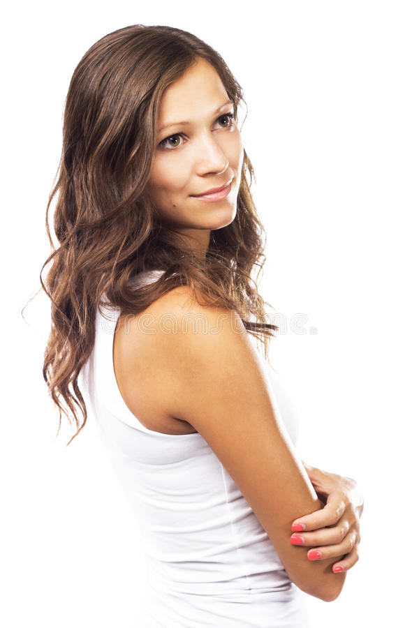 Mulher bonita nova imagem de stock royalty free