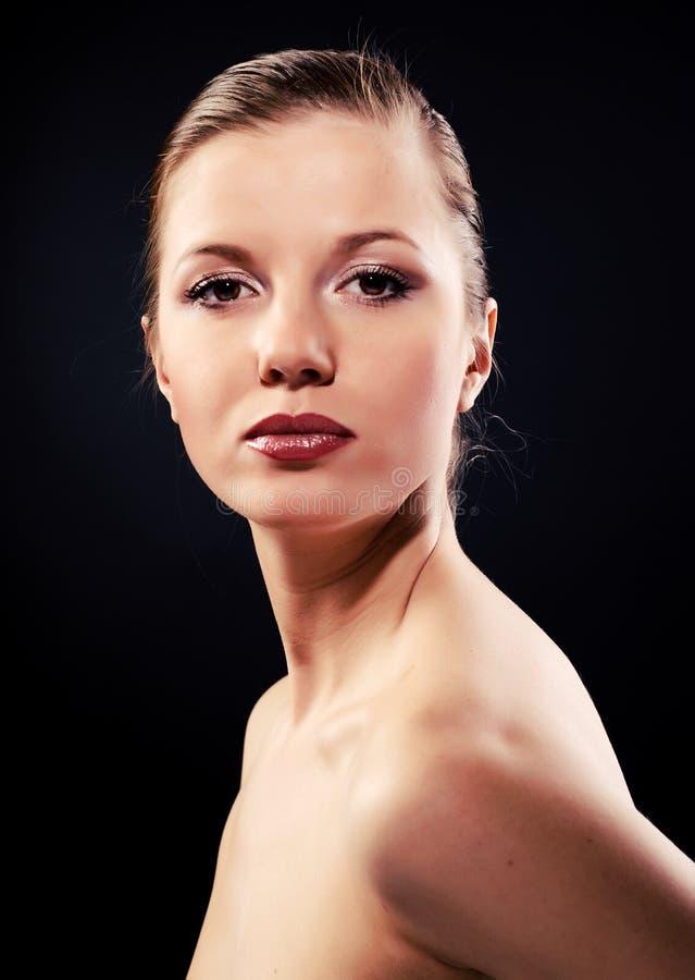 Mulher bonita nova foto de stock