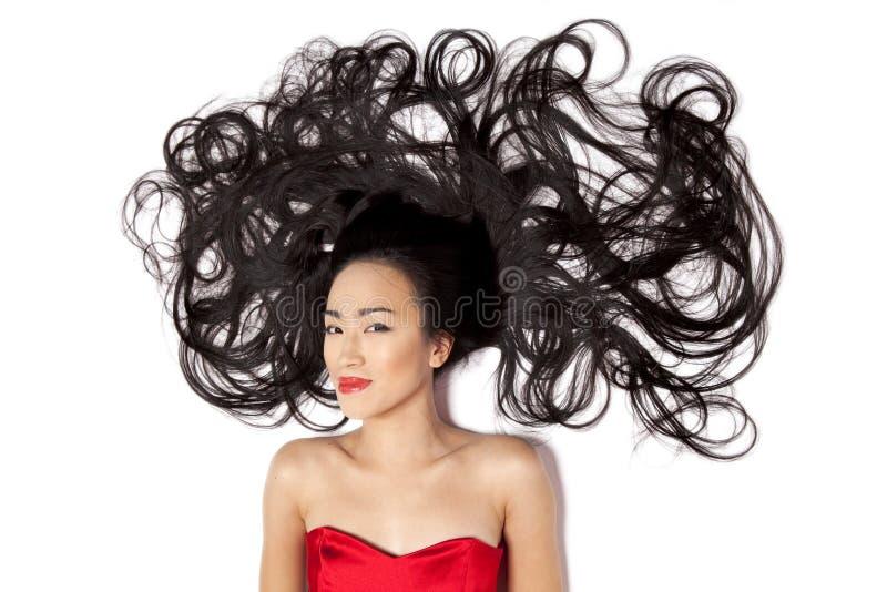 Mulher chinesa fotos de stock