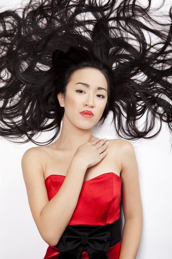 Mulher chinesa imagens de stock