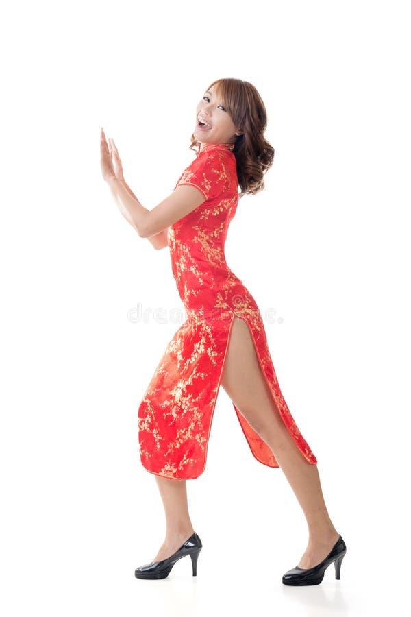 Mulher chinesa imagem de stock royalty free