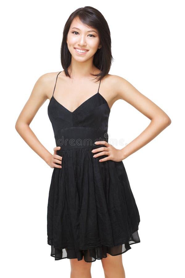 Mulher chinesa bonita nova fotografia de stock