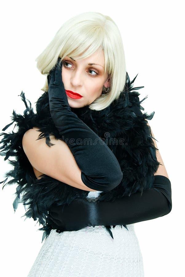 Mulher com boa fotografia de stock royalty free