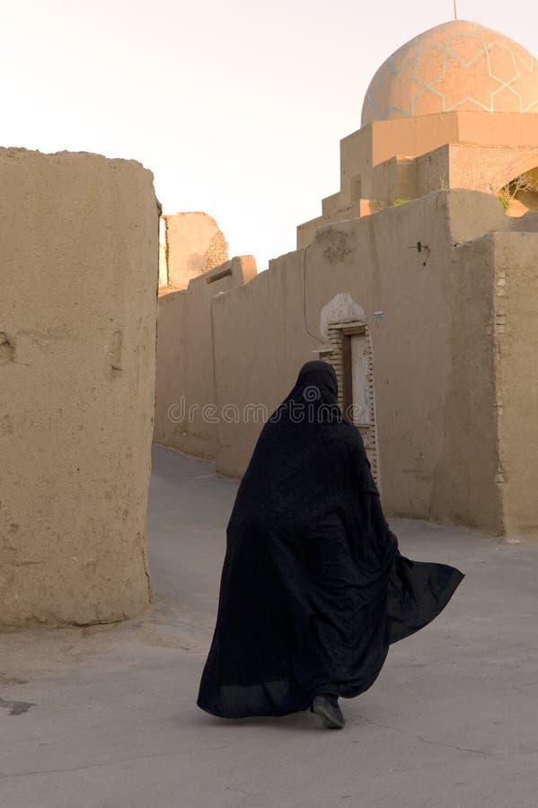 Mulher com burka imagens de stock royalty free