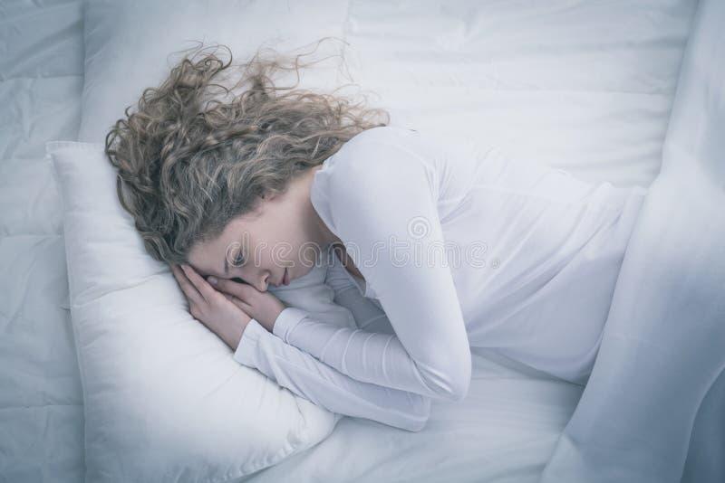 Mulher com depressão foto de stock royalty free