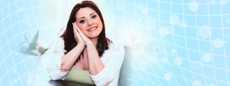 Mulher consideravelmente nova fotos de stock royalty free