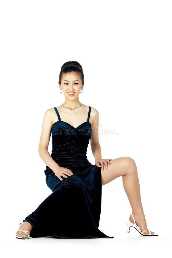 Mulher coreana imagem de stock