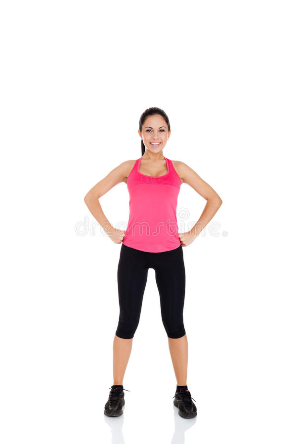 Download Mulher Da Aptidão Do Esporte Imagem de Stock - Imagem de nutrition, perder: 29849365