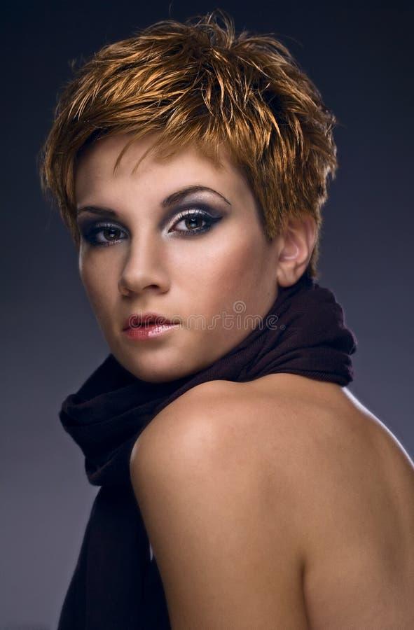 Mulher da beleza fotografia de stock royalty free