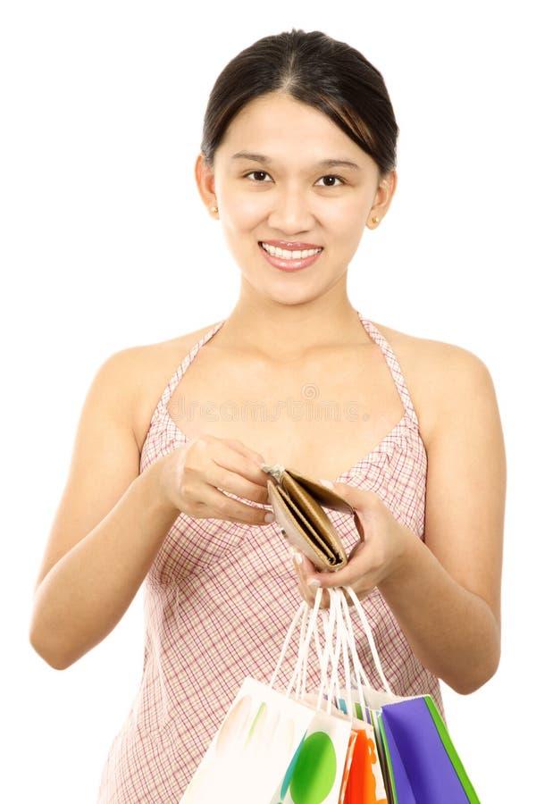 Mulher da compra imagens de stock royalty free