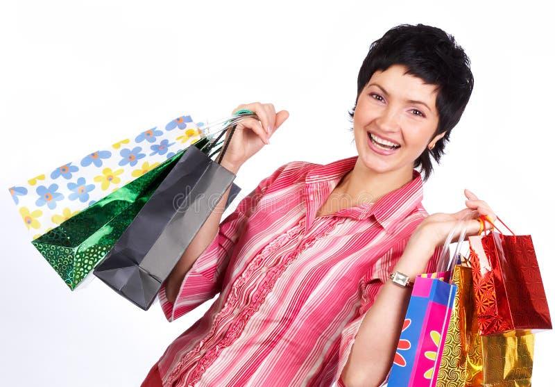 Mulher da compra fotos de stock