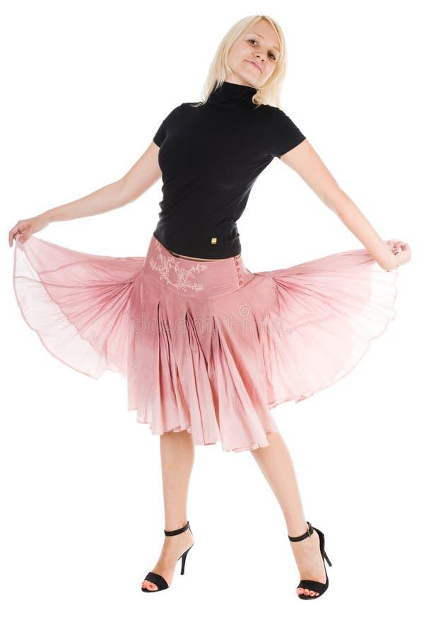Mulher da dança foto de stock royalty free