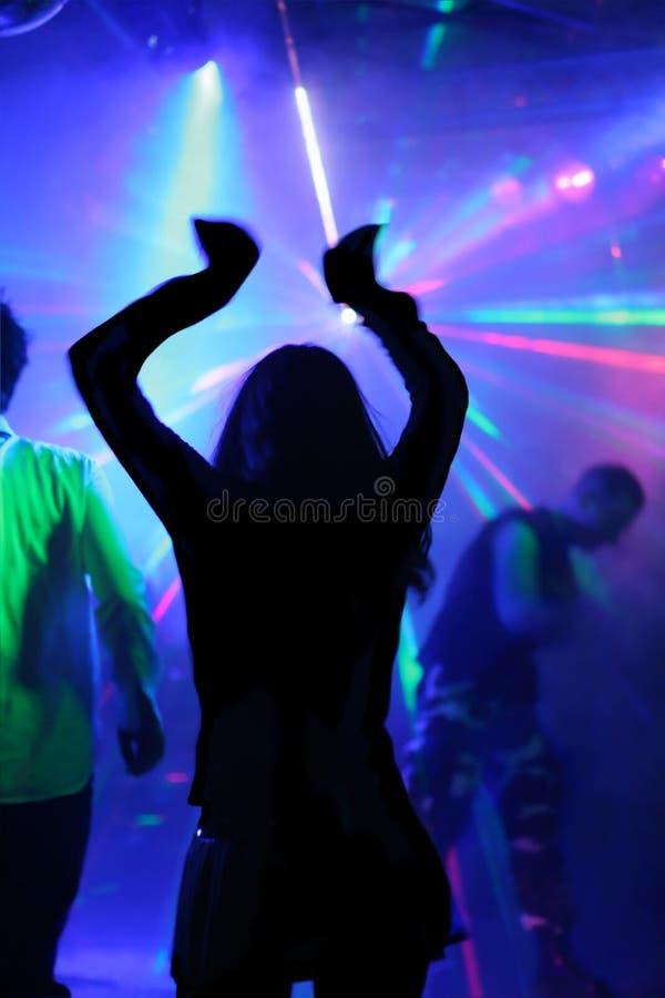 Mulher da dança fotos de stock