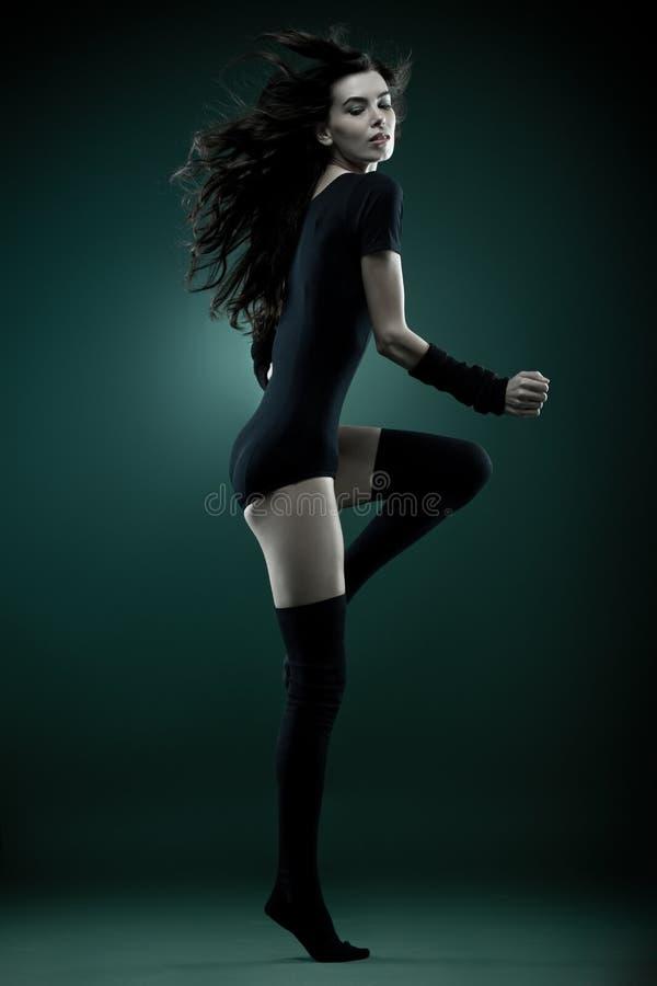 Mulher da forma fotografia de stock