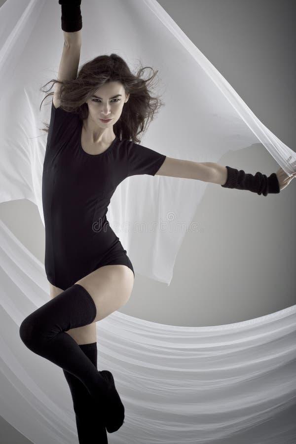 Mulher da forma foto de stock