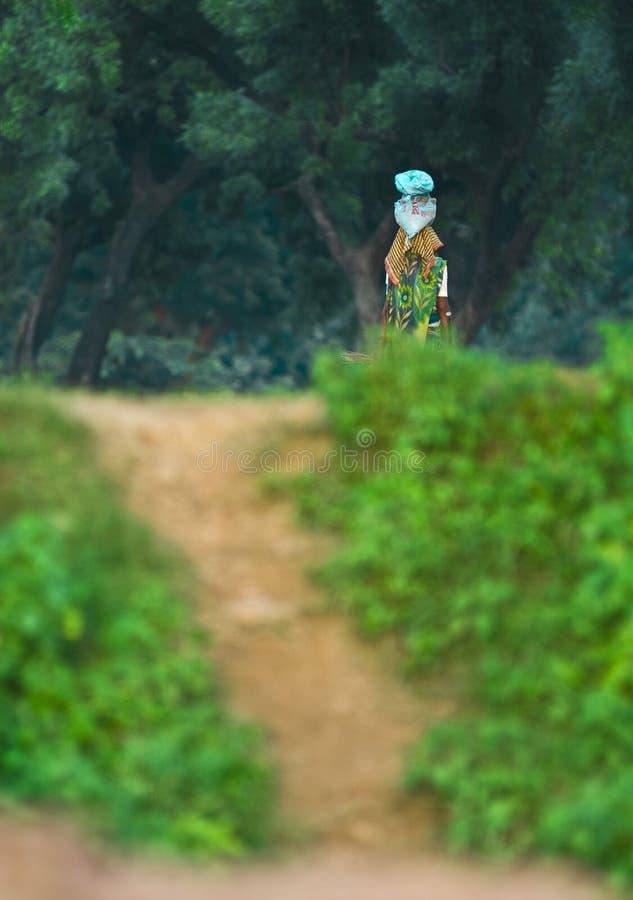 Mulher de Butanese imagem de stock