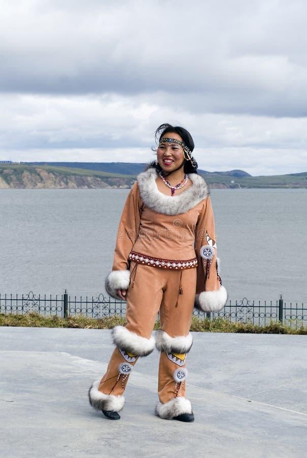 Mulher de Chukchi fotos de stock