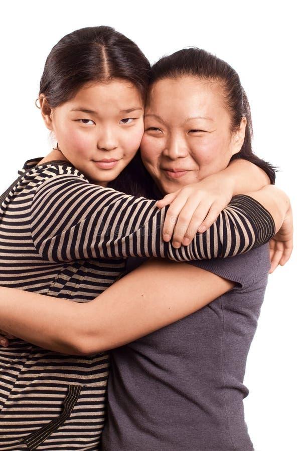 Mulher de dois asiáticos imagens de stock royalty free