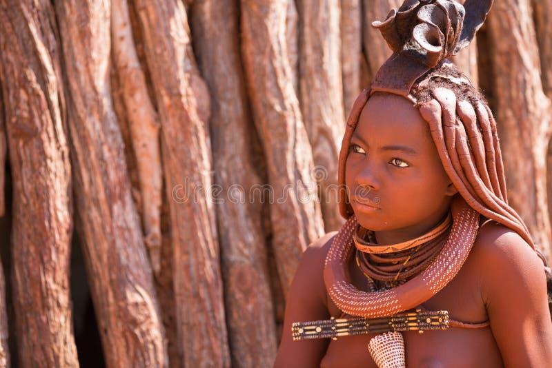 Mulher de Himba fotos de stock
