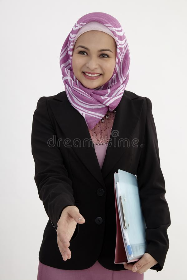 Mulher de negócio - 2 fotografia de stock