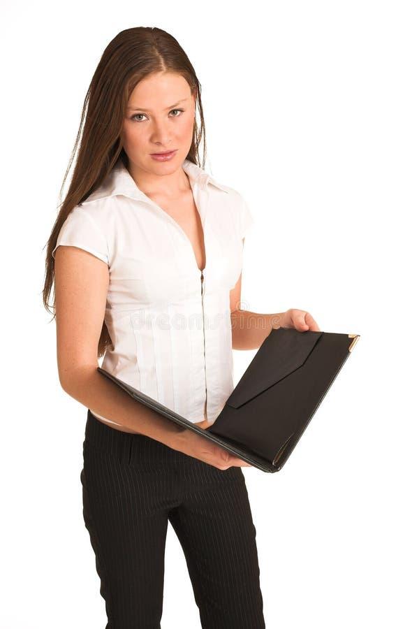 Mulher de negócio #203 (GS) imagem de stock