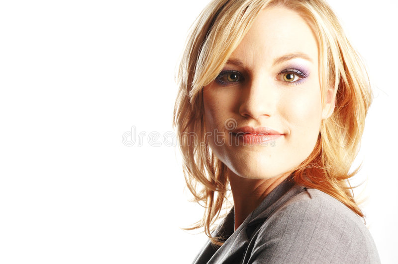Mulher de negócio imagens de stock