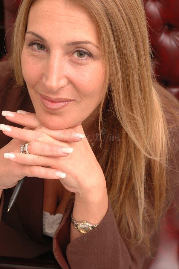 Mulher de negócio 3 foto de stock