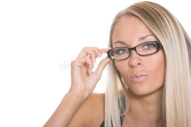 A mulher de negócio fotografia de stock