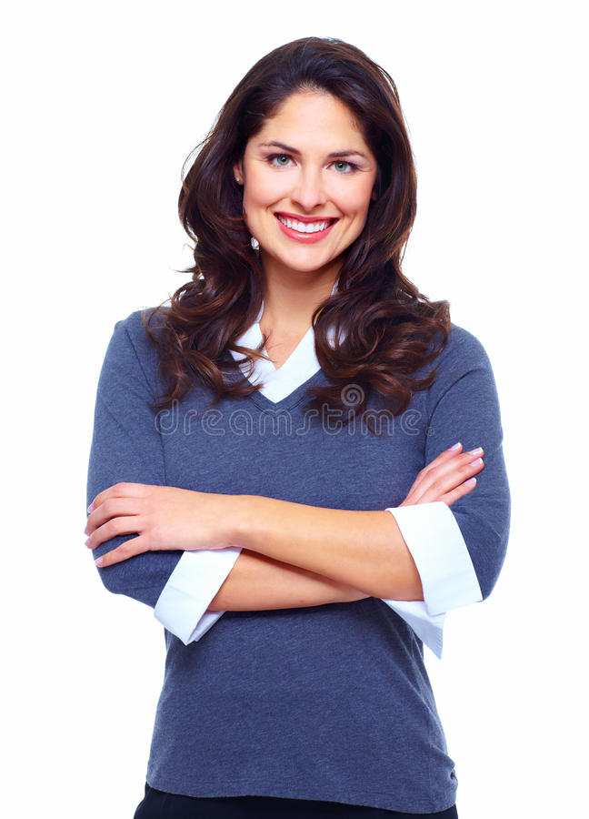 Mulher de negócio. imagens de stock royalty free