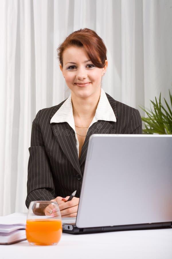 Mulher de negócio 8 foto de stock