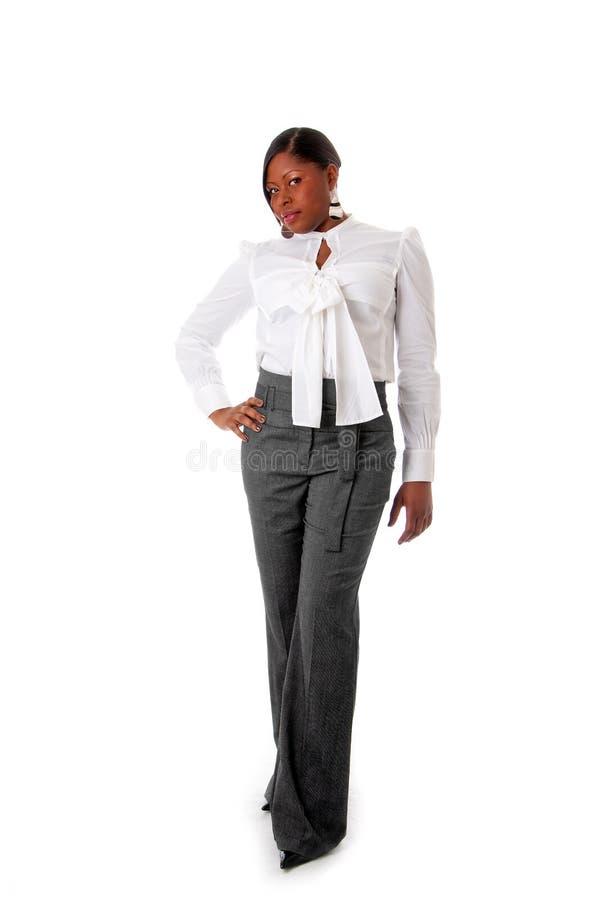 Mulher de negócio africana foto de stock royalty free