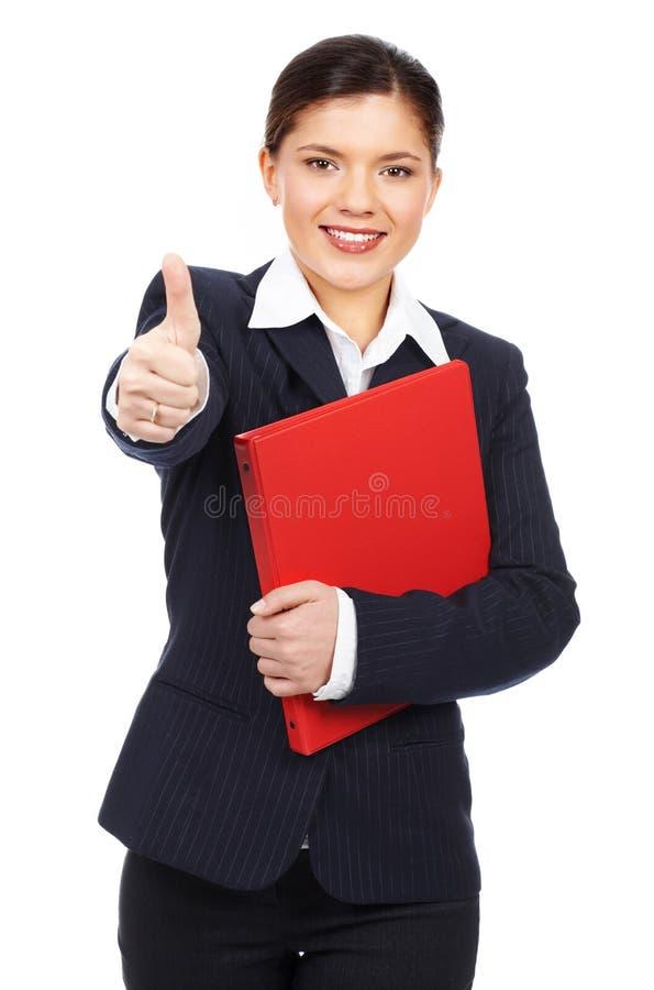 Mulher de negócio bem sucedida imagem de stock royalty free