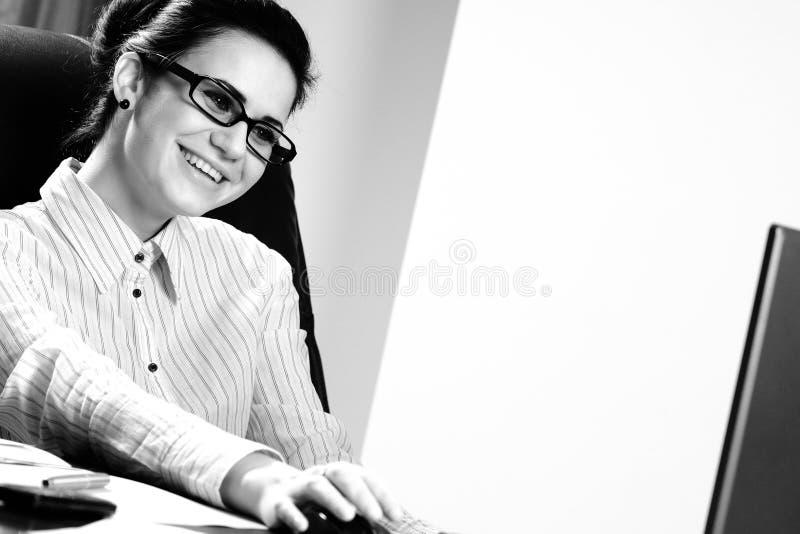 Mulher de negócio bem sucedida fotografia de stock royalty free