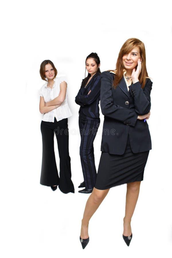 Mulher de negócio bem sucedida fotografia de stock