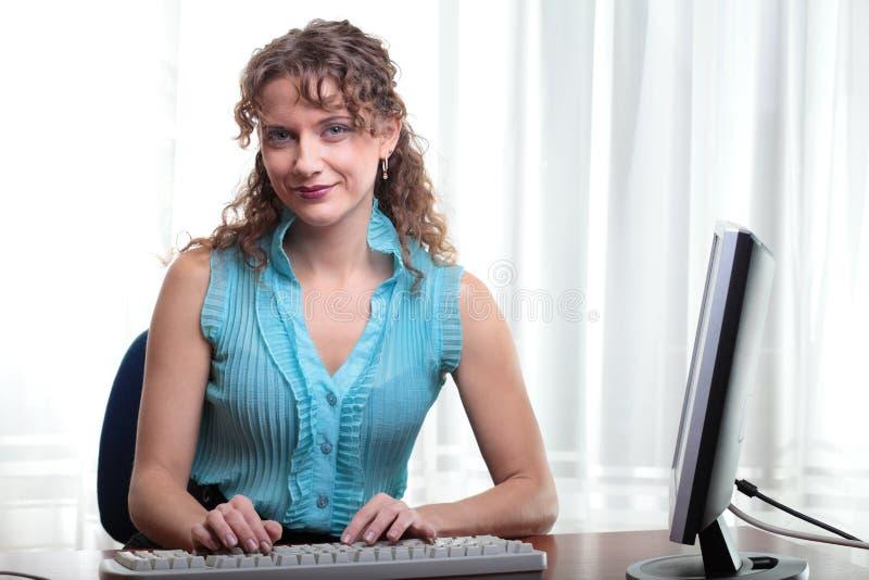Mulher de negócio bonita. fotos de stock