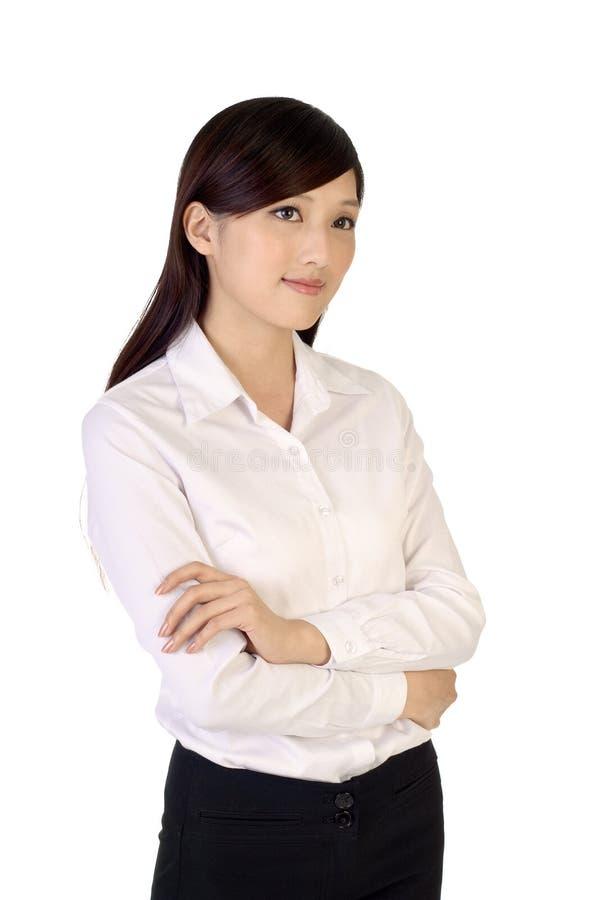 Mulher de negócio confiável imagem de stock royalty free