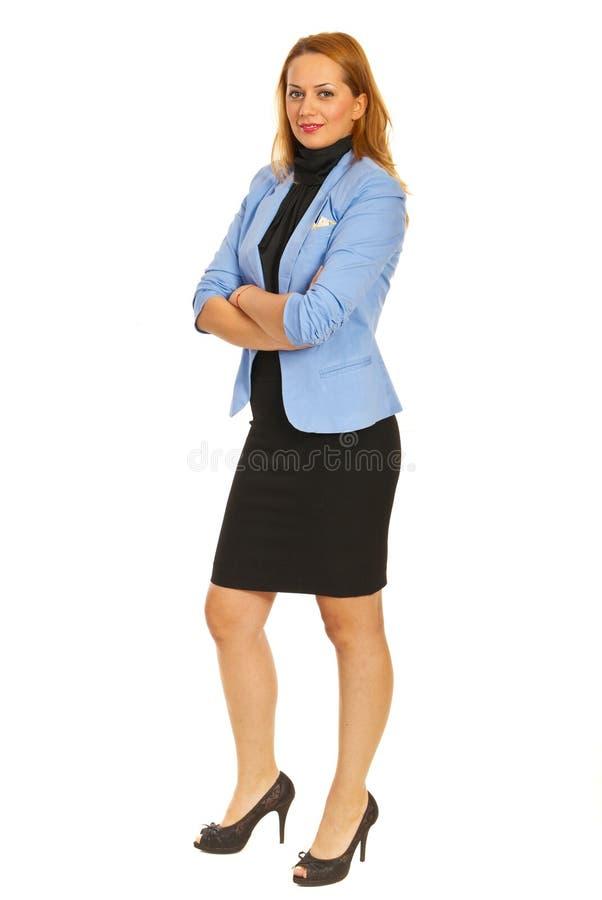 Mulher de negócio da beleza imagens de stock royalty free