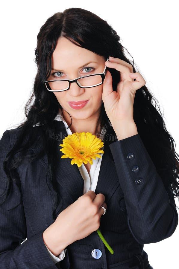 Download Mulher De Negócio Encantador Nova No Vestido Escuro Imagem de Stock - Imagem de ocupação, negócio: 12813247